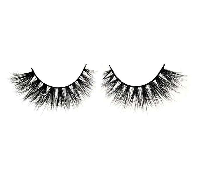 3d Mink Lashes Glam Toile Blue