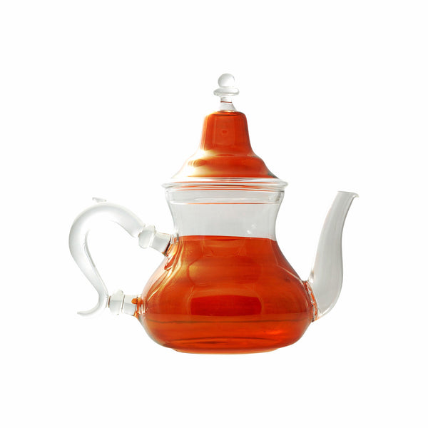 Glass Teapot Berrad Color, Orange