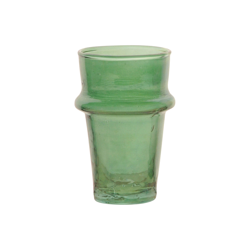 Tea Glass Beldi Color M, Green