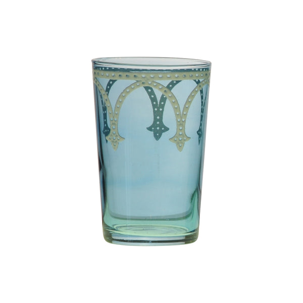Tea glass Cindbad White, Blue