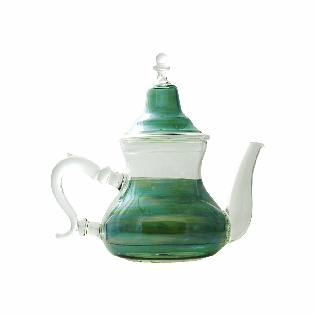 Glass Teapot Berrad Color, Green