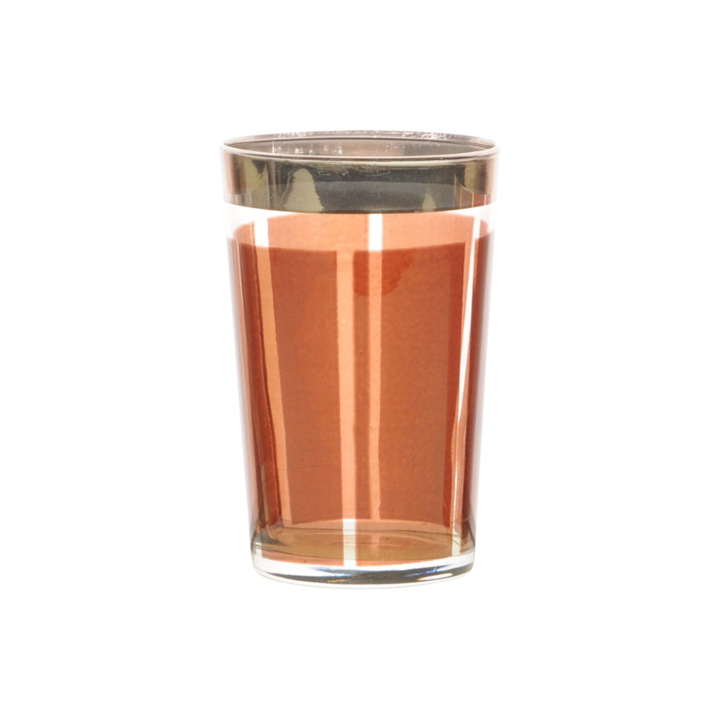 Tea glass Platine, Amber