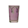 Tea glass Cindbad White, Violet