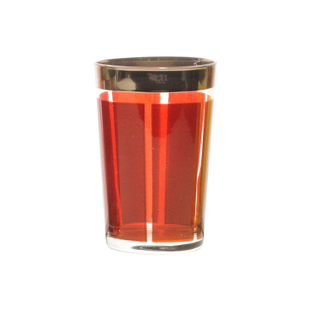 Tea Glass Platine, Cognac