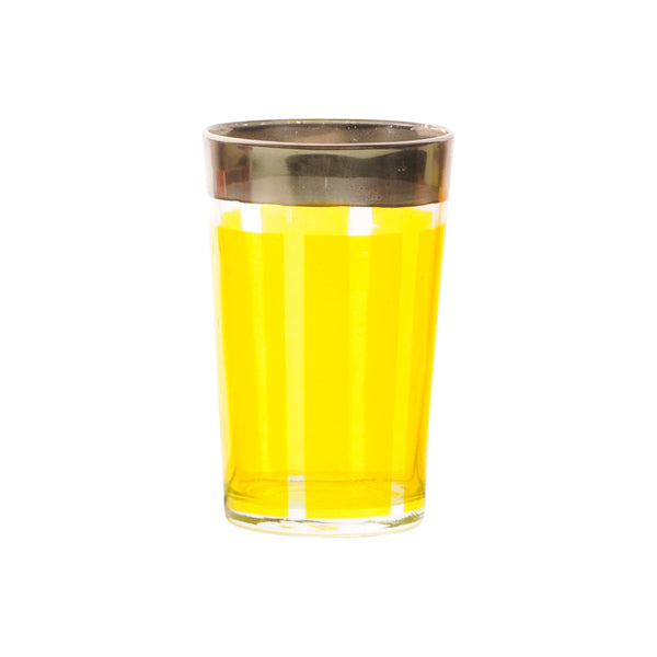 Tea glass Platine, Yellow