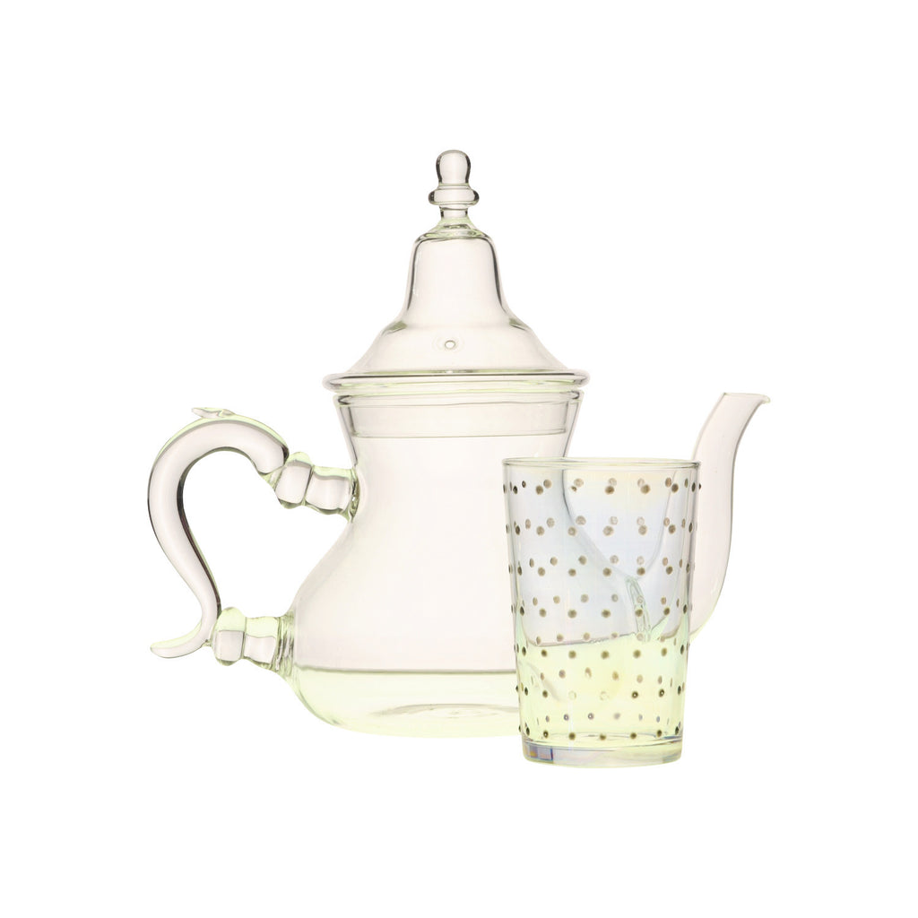Glass Teapot Berrad simple
