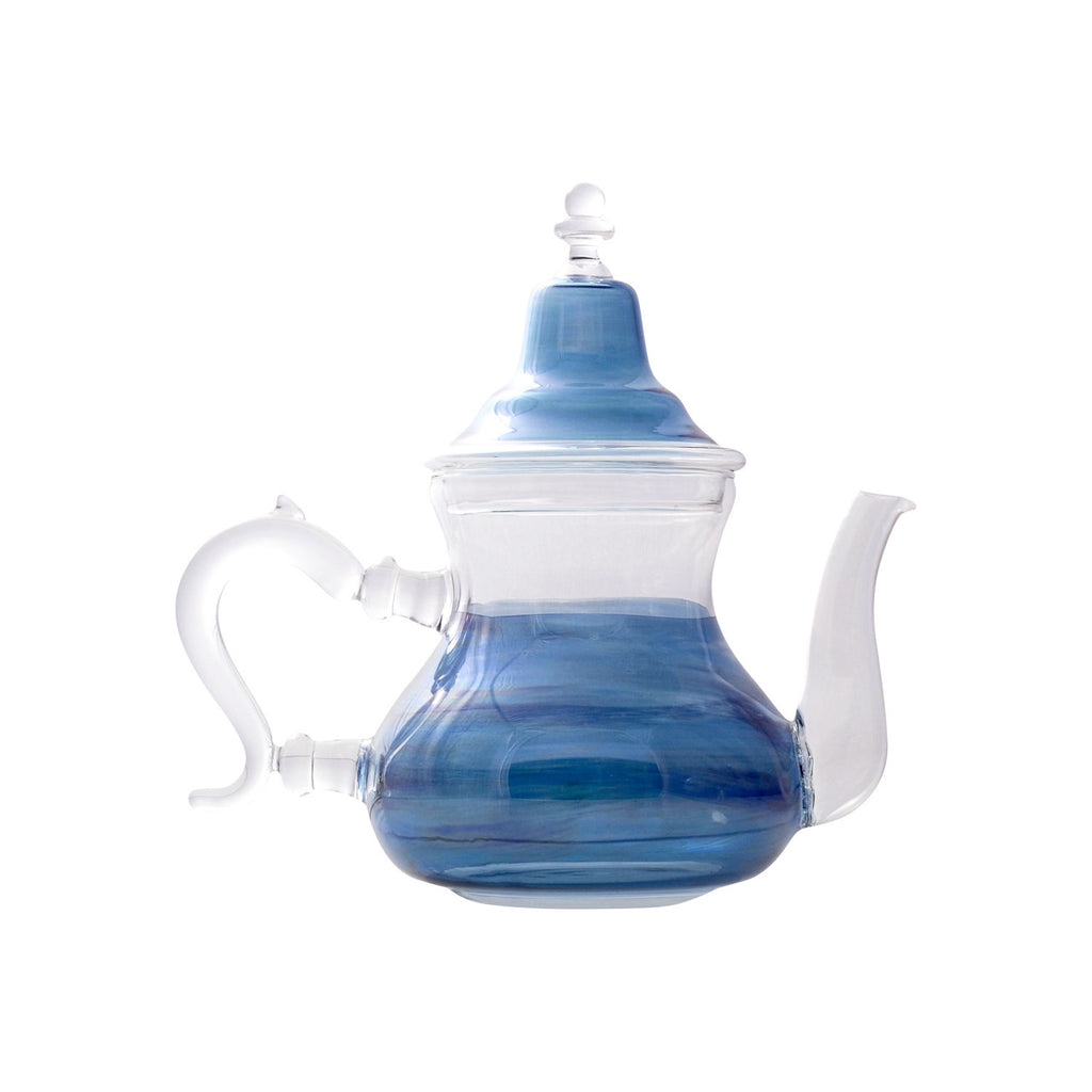 Glass Teapot Berrad Color, Blue