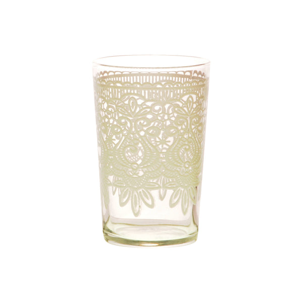 Tea Glass Kamia, White. D6xH9,5 cm