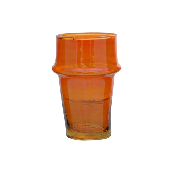 Tea Glass Beldi Color M, Orange