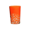 Tea Glass Dotty, Orange