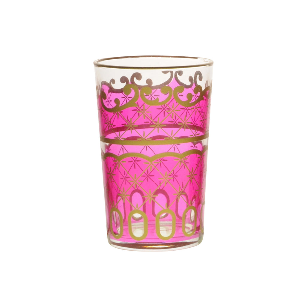 Tea glass Nejma, Pink
