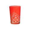 Tea Glass Dotty, Red