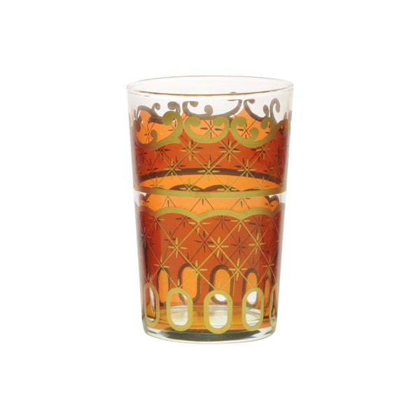 Tea glass Nejma, Amber