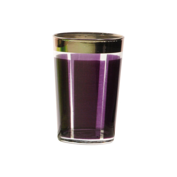 Tea glass Platine, Violet