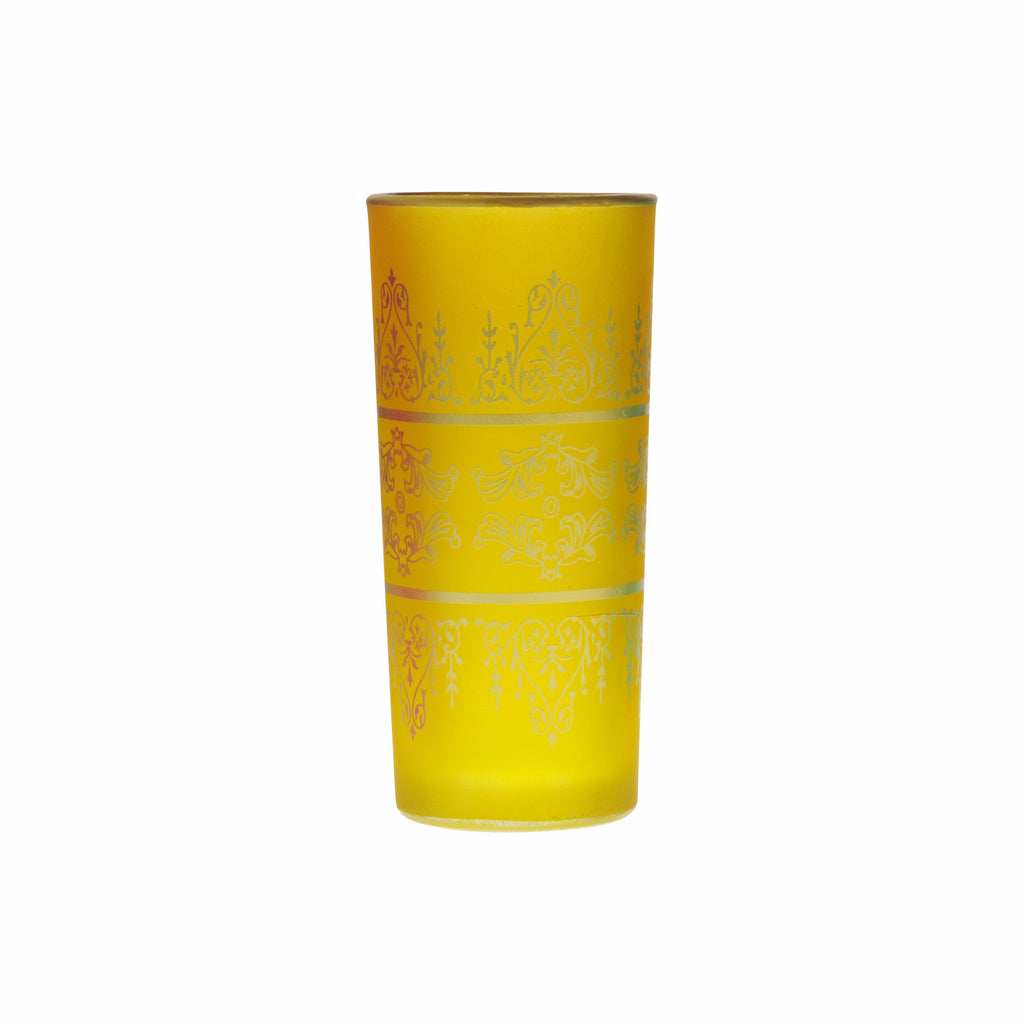 Water Glass Tunis, Yellow