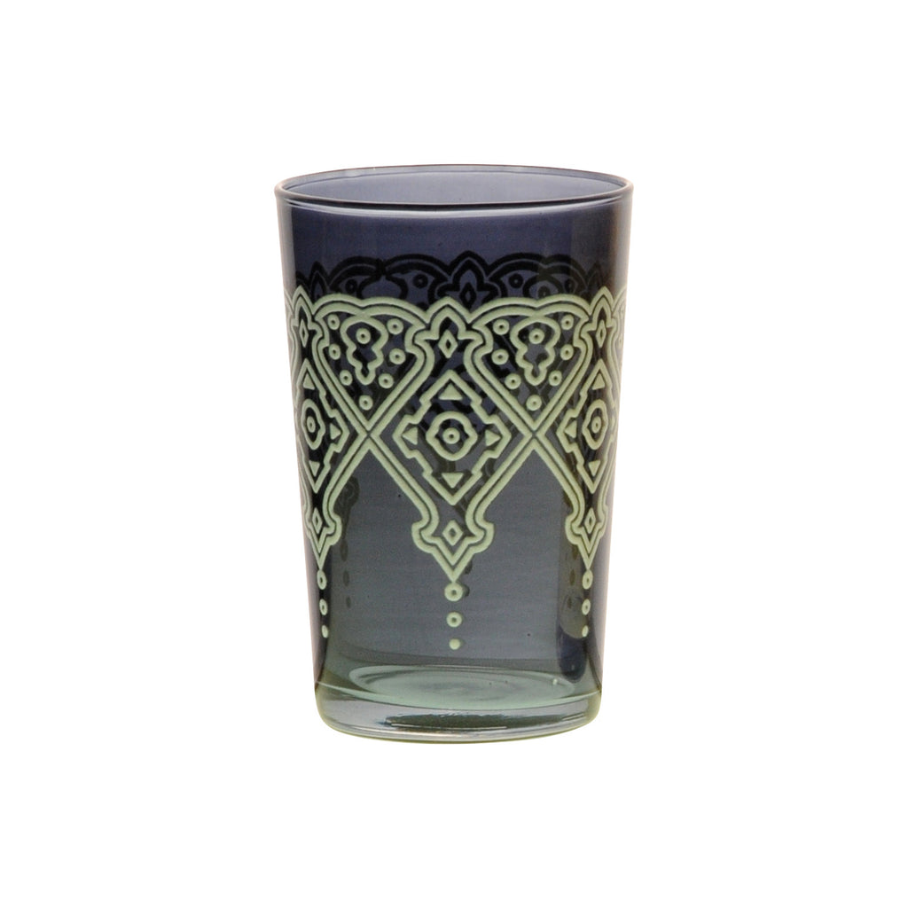 Tea glass Punto Relief, Smoke