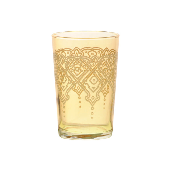 Tea glass Punto Relief, Gold