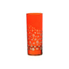 Waterglass Dotty, Orange