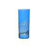 Water Glass Dotty, Royal Blue