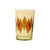 Tea Glass Diamond, Yellow