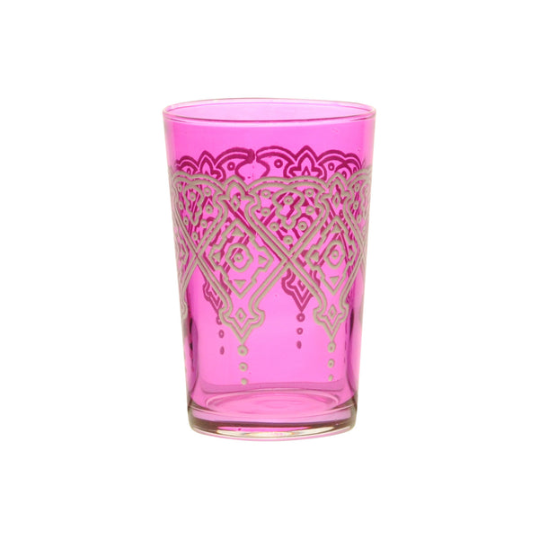 Tea glass Punto Relief, Rose