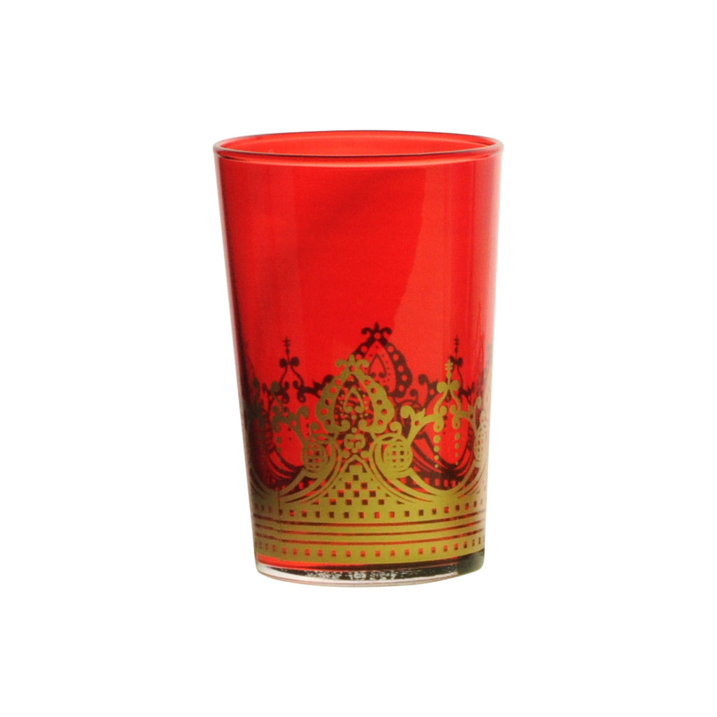 Tea glass Touareg, Red