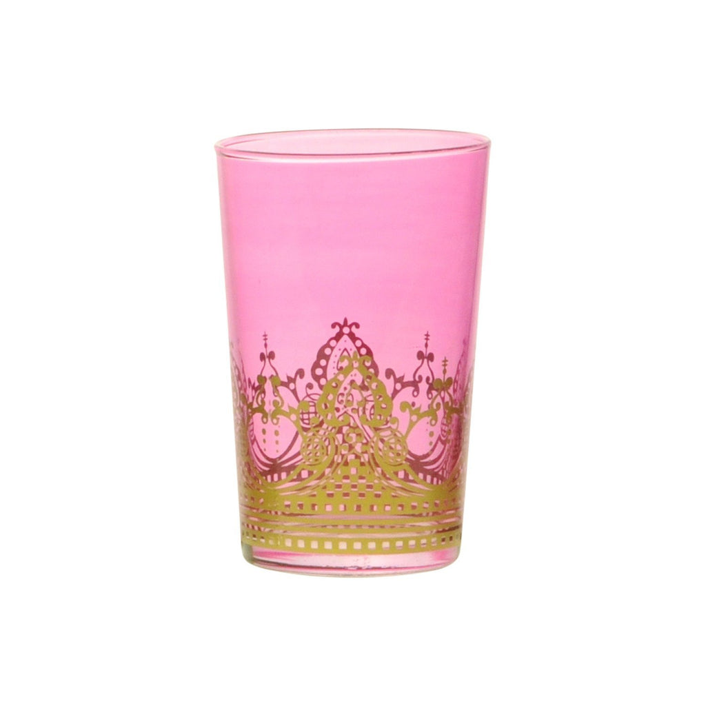 Tea glass Touareg, Rose