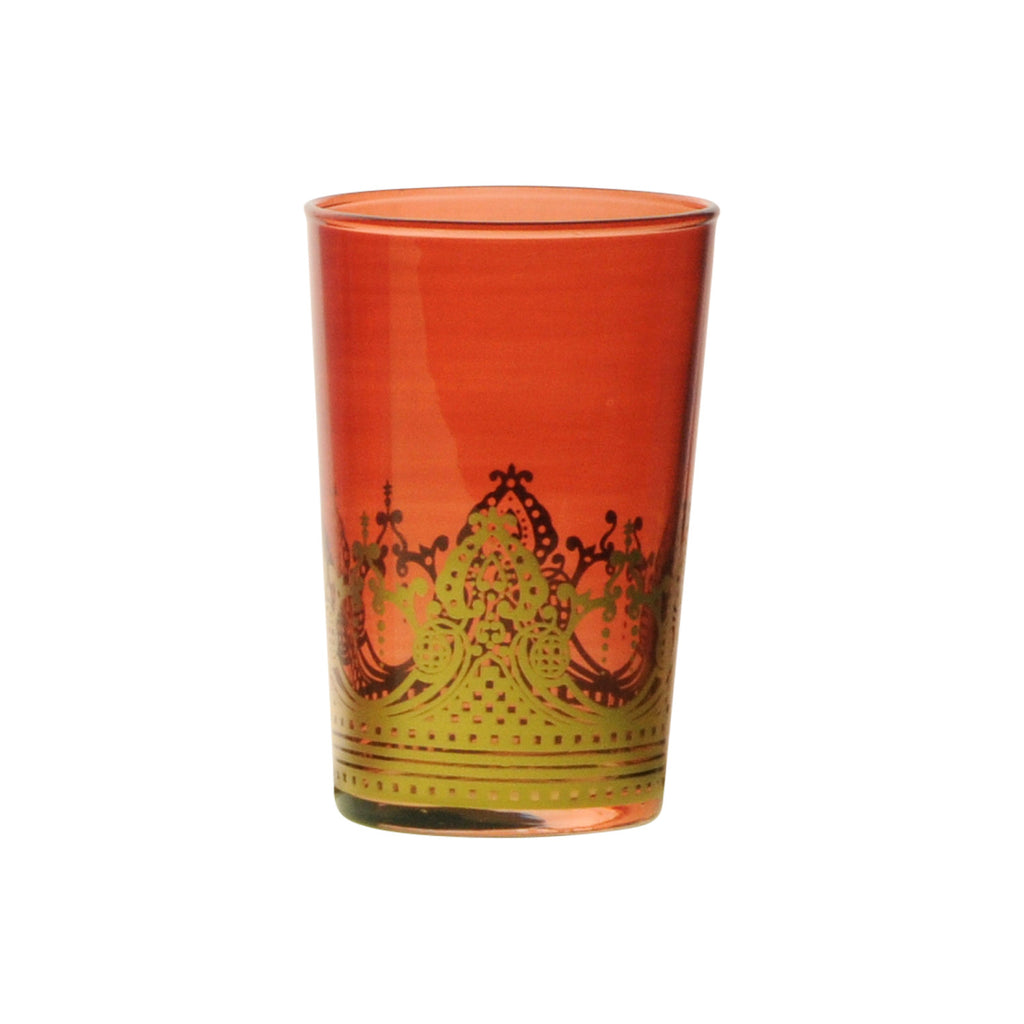Tea glass Touareg, Cognac