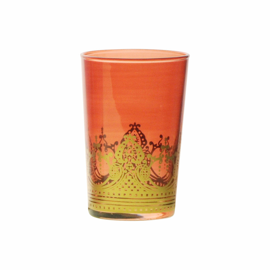 Tea glass Touareg, Amber