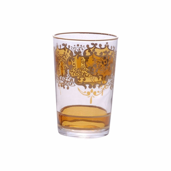 Tea glass Challa, Amber