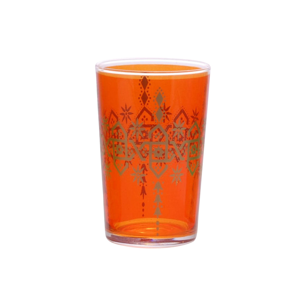 Tea glass Henna Berrad, Orange