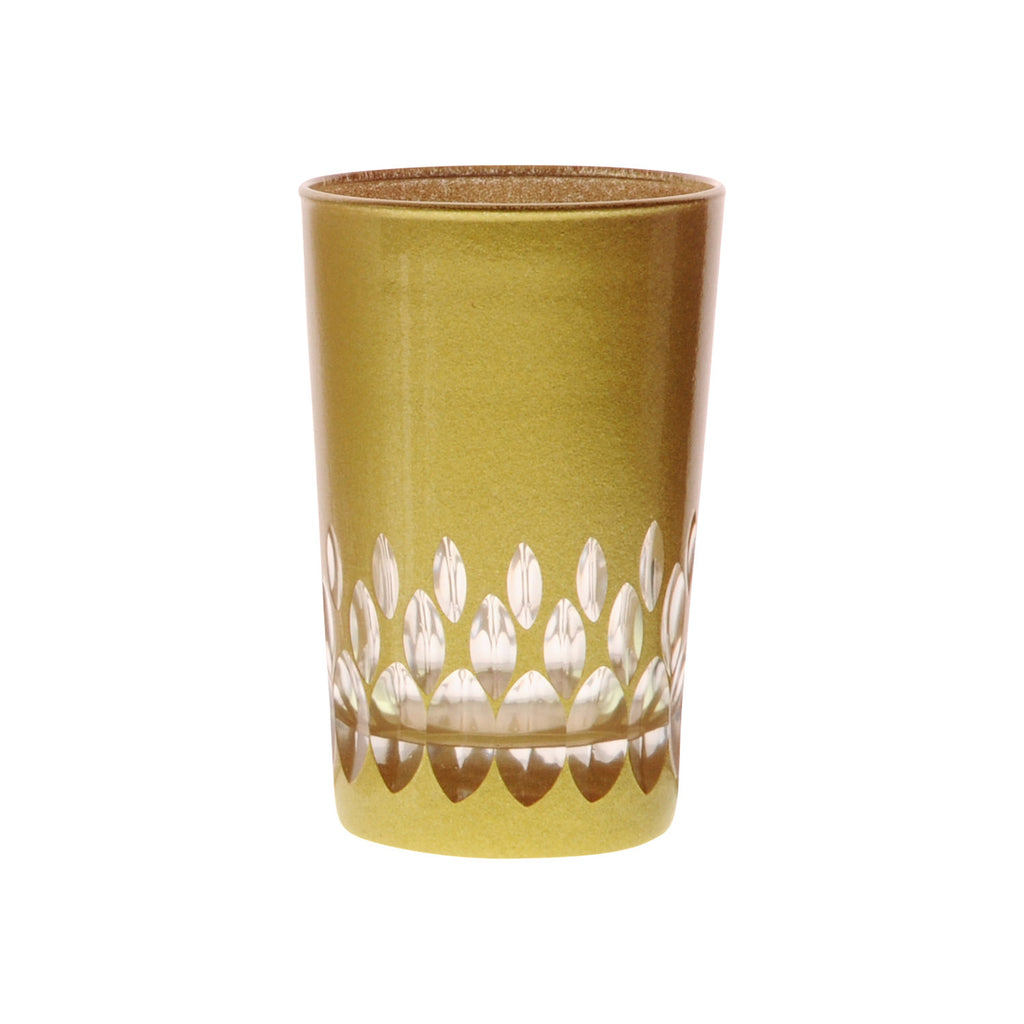Teeglas Ellipse, gold