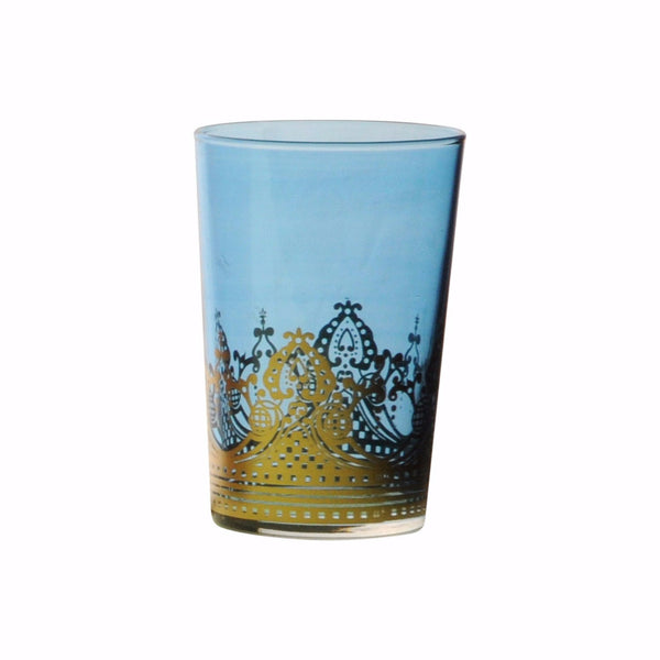 Tea glass Touareg, Blue