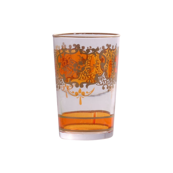Tea glass Challa, Orange