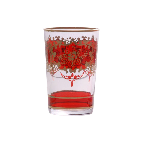 Tea glass Challa, Red