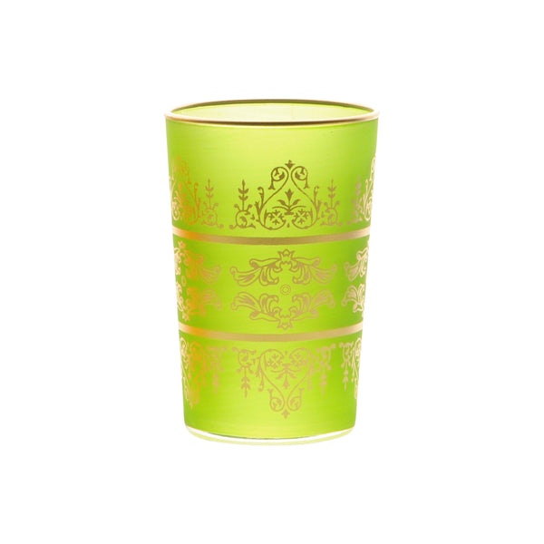 Tea Glass Tunis, Lime