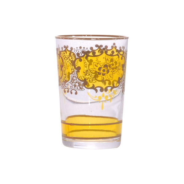 Tea glass Challa, Yellow