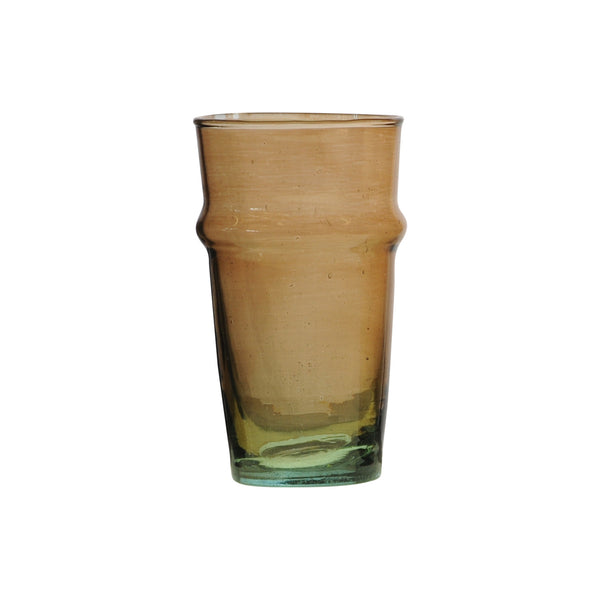 Water Glass Beldi XL, Amber