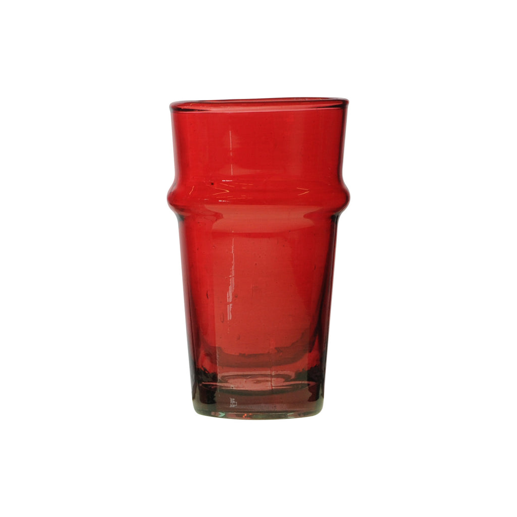 Water Glass Beldi XL, Red