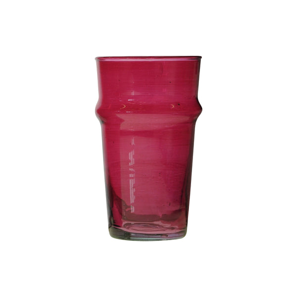 Water Glass Beldi XL, Bordeaux