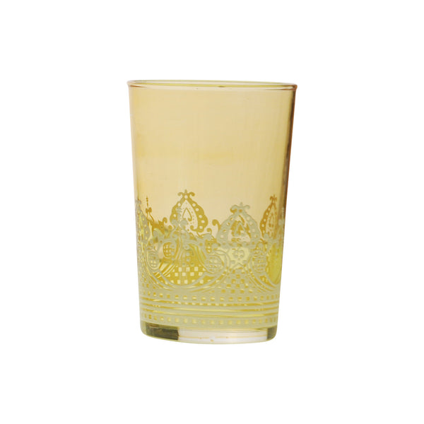 Tea glass Touareg relief, Gold