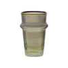 Tea Glass Beldi Gold M, Smoke. D6xH10 cm