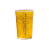 Tea glass Kandil, Yellow