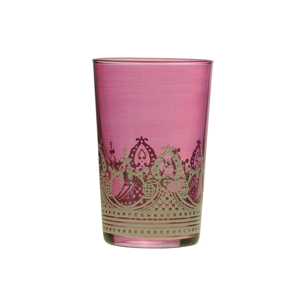 Tea glass Touareg relief, Violett