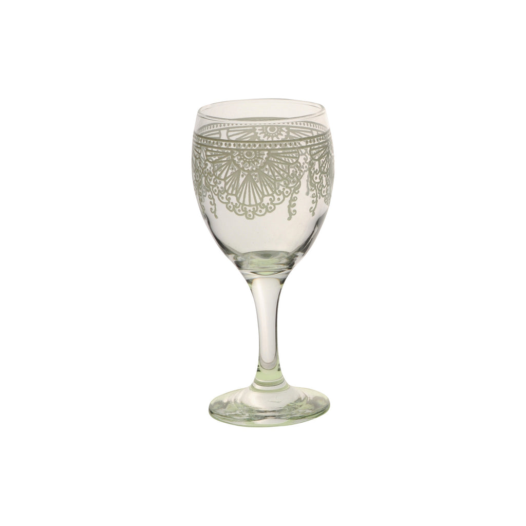 Wine Glass Lalla, White