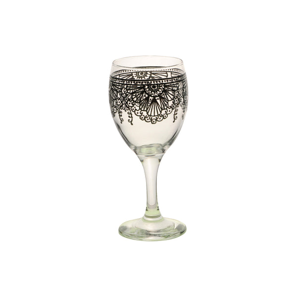 Wine Glass Lalla, Black