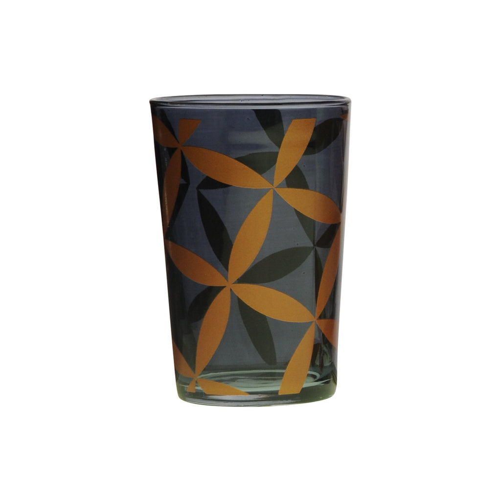 Tea Glass Hilal, Smoke. D6xH9,5 cm