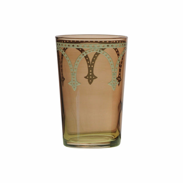 Tea glass Cindbad White, Amber