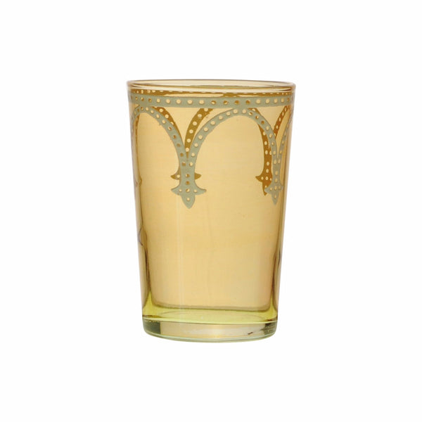 Tea glass Cindbad White, Gold