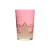 Tea glass Touareg relief, Rose
